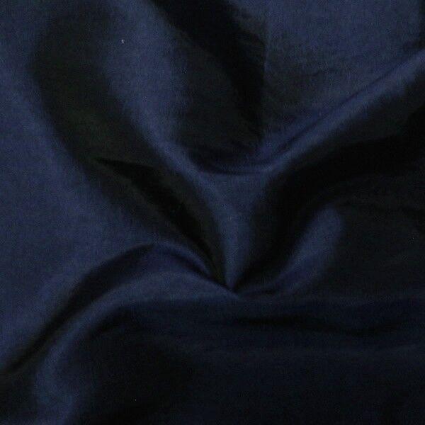 Kleider / Deko Taft Farbe Nacht-Blau changierend