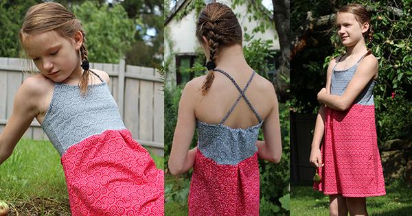 Kleid mit Schnittmuster