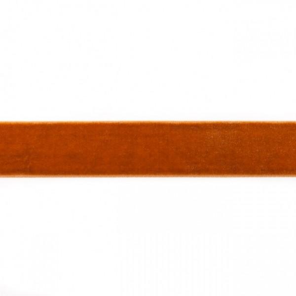 Samtband Breite 25mm Farbe Gold