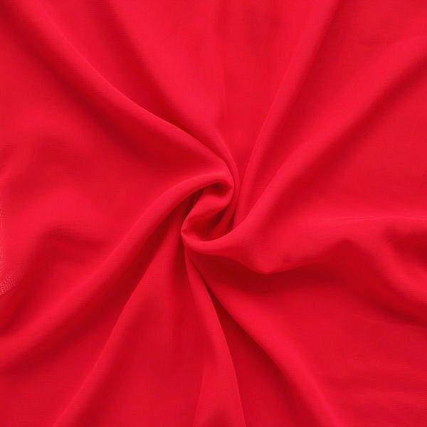 "Modestoff universal Artikel ""Peach"" Farbe Rot"