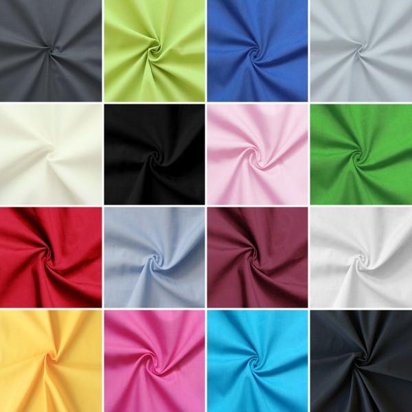 Musterkarte DIN A4 - Baumwolle Polyester wie Batist