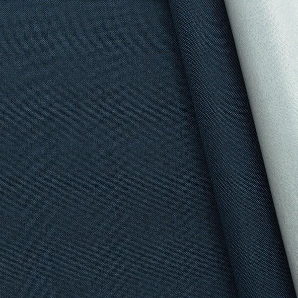Outdoorstoff beschichtet Dunkel-Blau meliert
