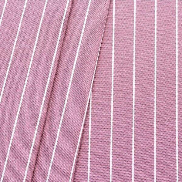Deko Outdoorstoff Streifen fein Rosé melange