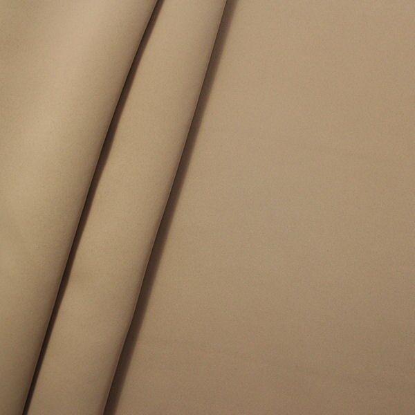 Verdunkelungs- Thermo Vorhangstoff Black Out Breite 280cm Hell-Braun