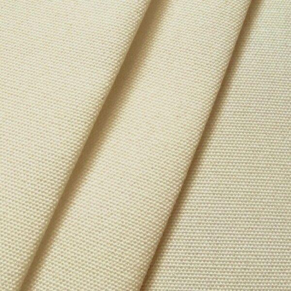 Markisen Outdoorstoff Breite 160cm Farbe Creme-Weiss