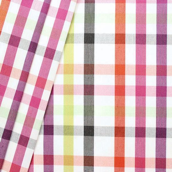Deko Outdoorstoff Karo Mix Artikel Yaiza Multicolor