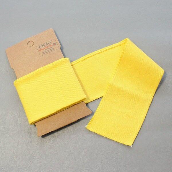 Board Cuff Bündchen Gelb