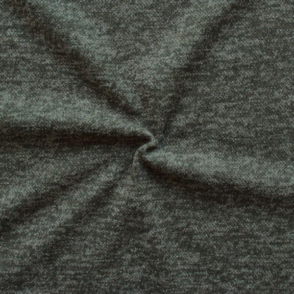 6,00 Meter Strick Jersey Artikel Laura Farbe Oliv-Grün melange