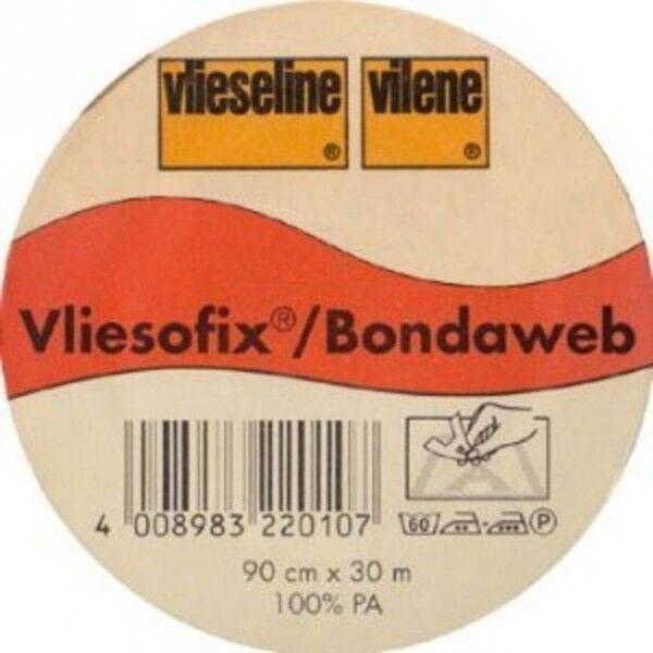 Vlieseline Vliesofix aufbügelbarer Untergrund Breite 90cm Farbe Transparent