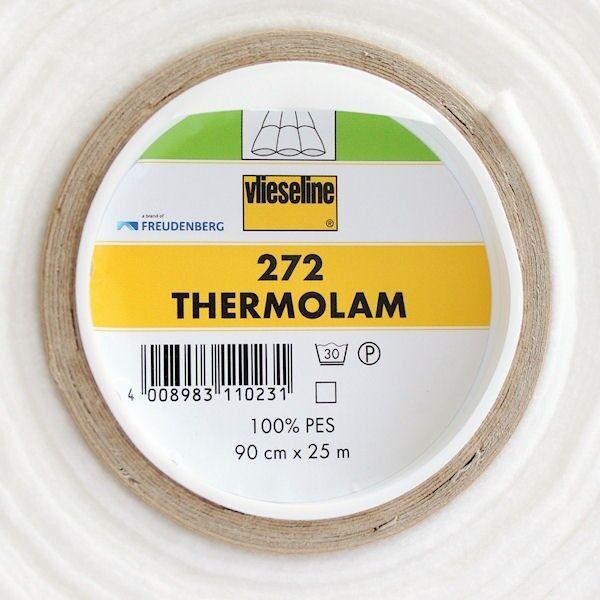Vlieseline Volumenvlies zum Einnähen Typ 272 Thermolam Breite 90cm Farbe Weiss