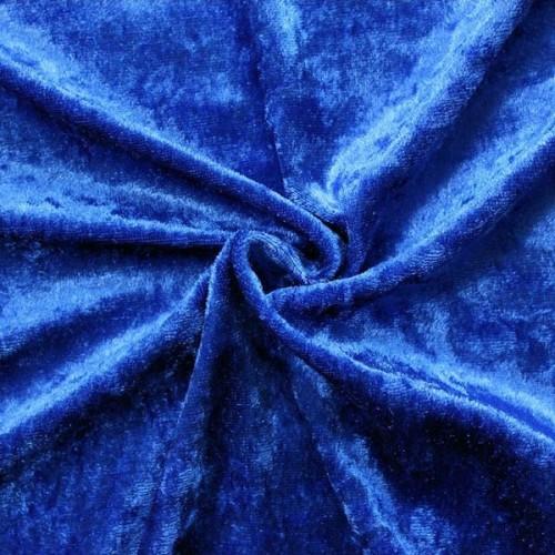 Pannesamt Farbe Royal-Blau
