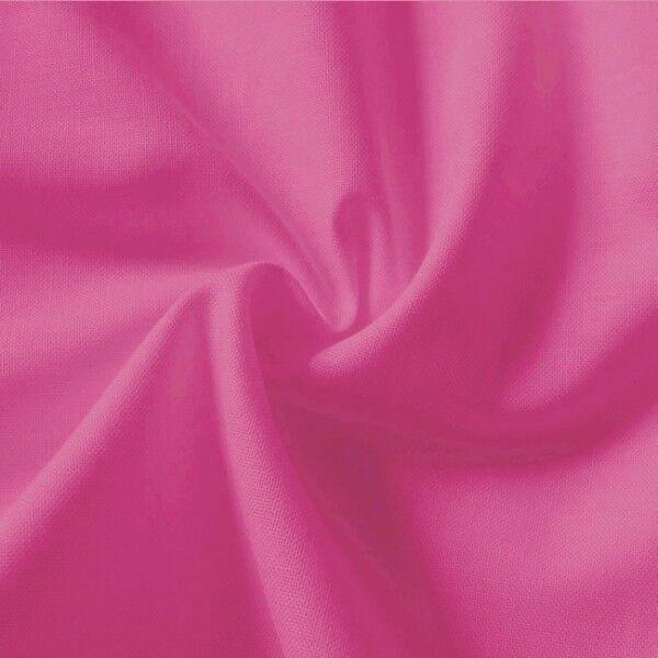 100% Baumwolle Fahnentuch Farbe Pink