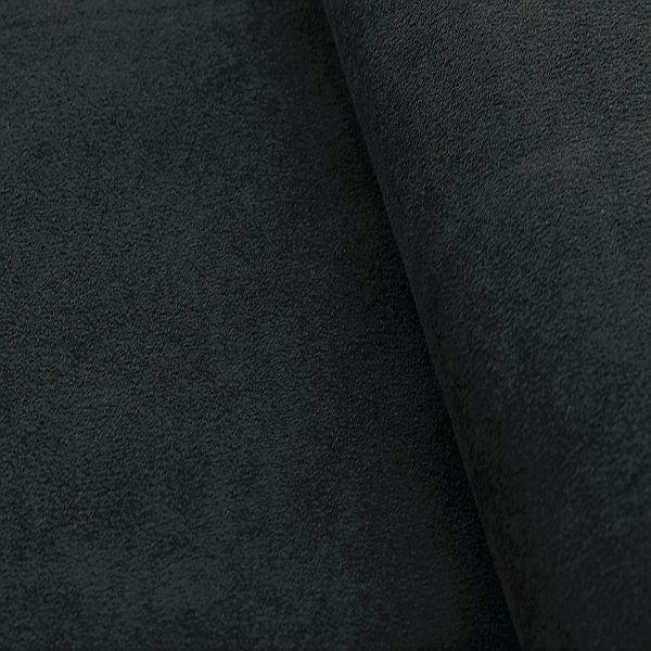Microfaser Polster-Möbelstoff Schwarz