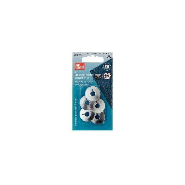Prym 5 Stück Nähmaschinenspulen für kleinen Umlaufgreifer
