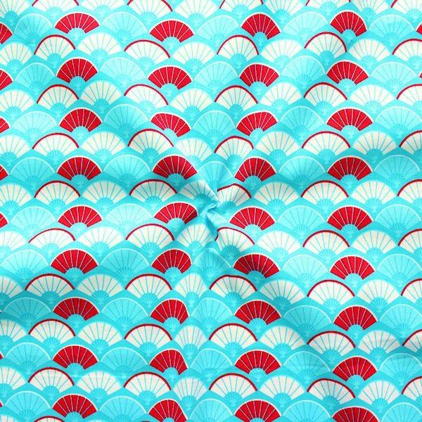100% Baumwolle Popeline Pflaumenblüte Farben