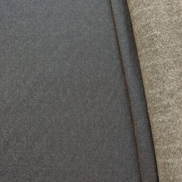 Sweatshirt Baumwollstoff Jeans-Optik Dunkel-Blau