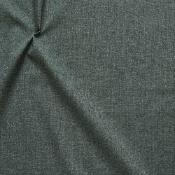 Baumwolle Polyester wie Batist Melange Anthrazit