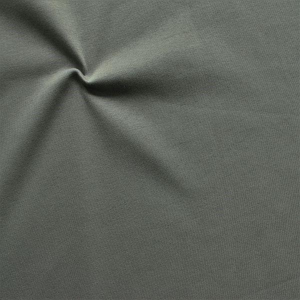 Sweatshirt Baumwollstoff angeraut Dunkel-Grau