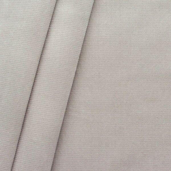 Polster- Möbelstoff Artikel New York Samt-Optik Farbe Beige