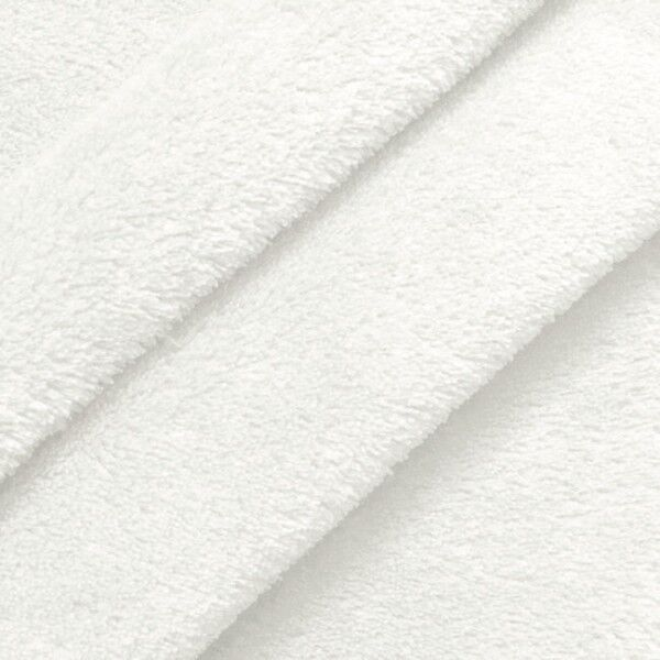 Wellness Fleece Farbe Weiss