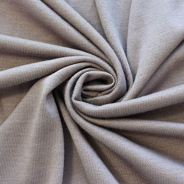 Feinstrick Jersey Classic Knitwear Taupe