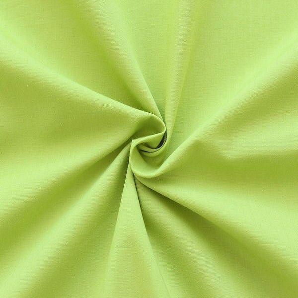 Baumwolle Polyester Batist Lind-Grün