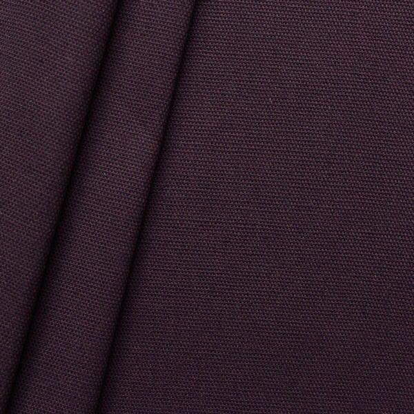 100% Baumwolle Canvas Farbe Aubergine