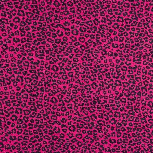 Baumwoll Stretch Jersey Panther Pink