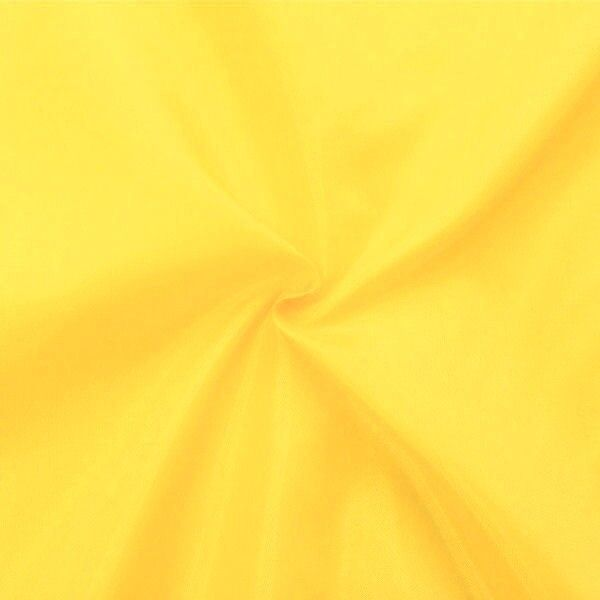 Polyester Taft Futterstoff Farbe Gelb