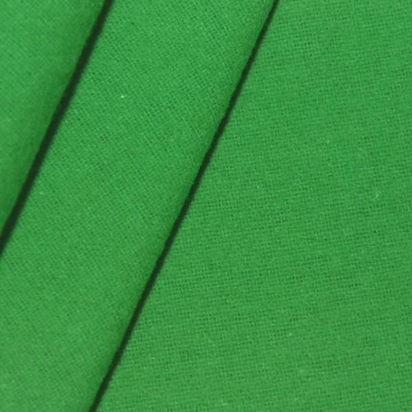 Deko Molton B1 schwer entflammbar Grün