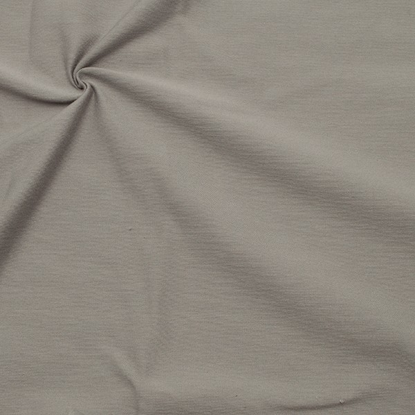 Organic Baumwoll Stretch Jersey Farbe Hell-Grau