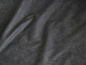 5 Meter leichte Vlies Bügeleinlage mit Kleber Farbe Dunkel-Grau
