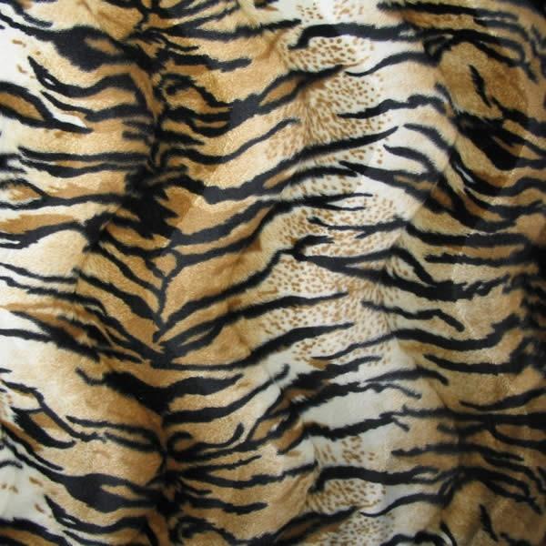 Tiger Tierfellimitat Velboa