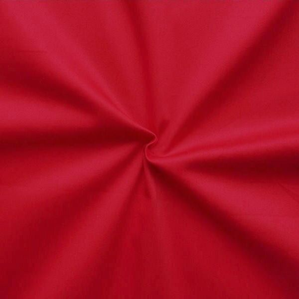 Stretch Baumwolle Popeline Rot