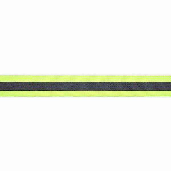Reflektorband 25mm Neon-Gelb