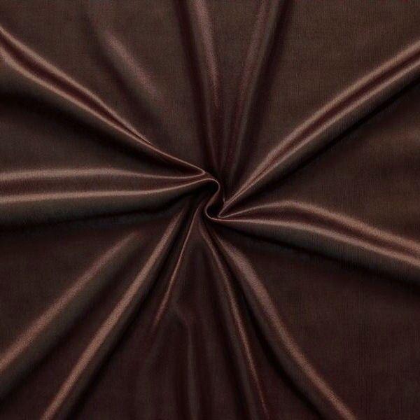 charmeuse bekleidungs futterstoff farbe braun futterstoffe bekleidungsstoffe. Black Bedroom Furniture Sets. Home Design Ideas
