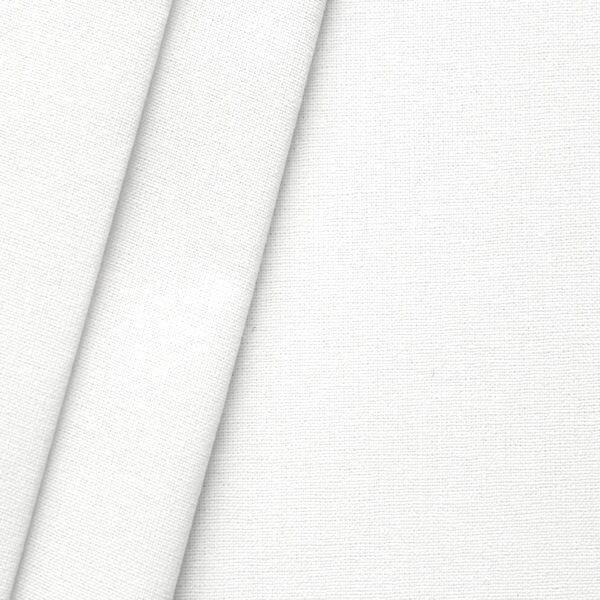 Baumwolle Nessel B1 schwer entflammbar Breite 320cm Weiss gebleicht