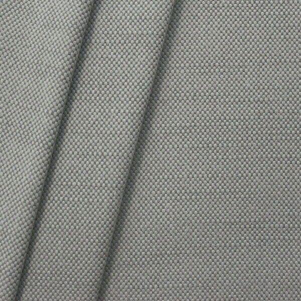 Polster-Möbelstoff Leinen-Baumwolle Optik Mittel-Grau