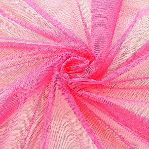 Braut Tüll Soft Touch Pink