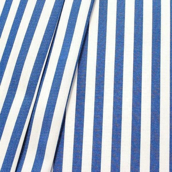 """In- / Outdoorstoff Artikel Acrisol """"Streifen schmal"""" Farbe Blau-Weiss"""