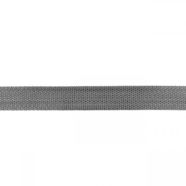 Gurtband Mittel-Grau