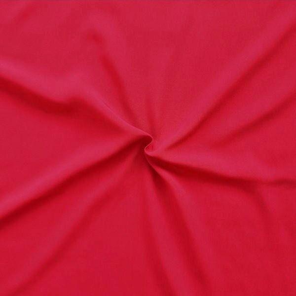 "100% Viskose Javanaise ""Fashion Standard 2"" Farbe Rot"