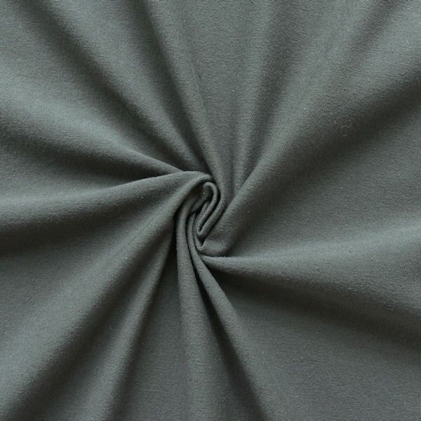 "Baumwoll Stretch Jersey ""Basic 2"" Farbe Maus-Grau"