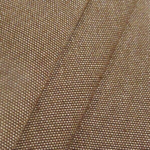 Markisen Outdoorstoff Breite 160cm Farbe Braun melange