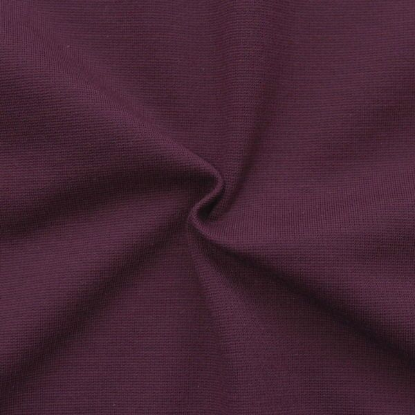 "Viskose Romanit Jersey ""Punta di Roma"" Farbe Bordeaux"
