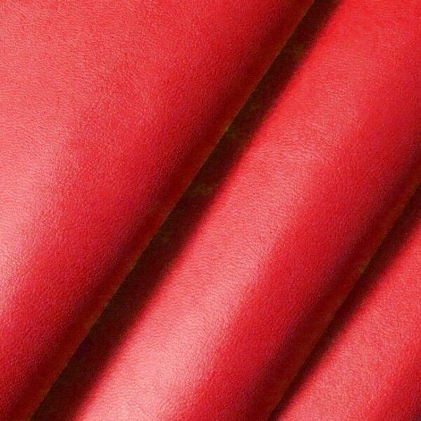 Nappaleder Imitat Farbe Rot