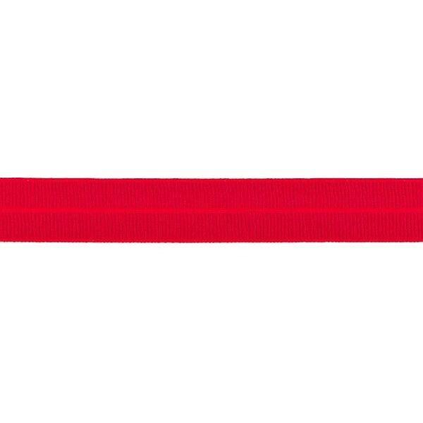 Elastisches Einfassband gerippt Rot