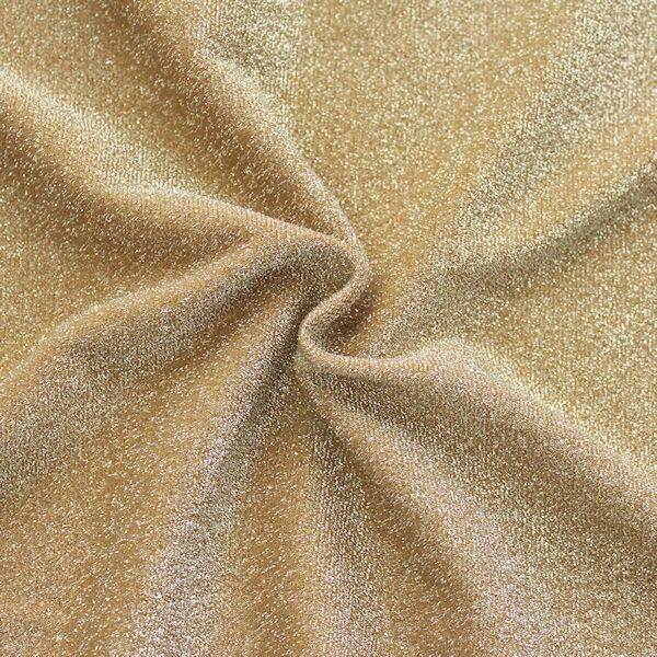 Lurex Jersey Glitter Ocker-Gold