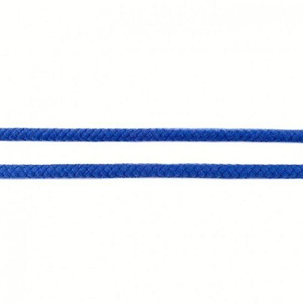 Baumwollkordel 8mm  Royal-Blau