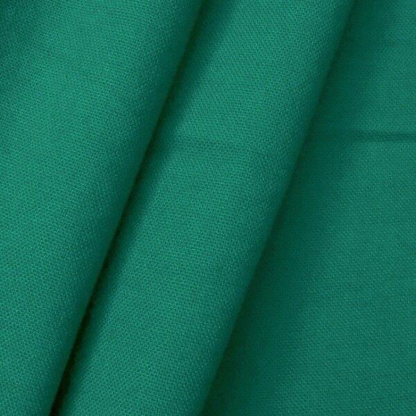 100% Baumwolle Canvas Farbe Petrol